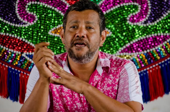 Lucio Mauro Lira fala sobre os avanços do edital do audiovisual do Funcultura / Secretaria de Cultura do Estado de Pernambuco. Foto: Ernesto Rodrigues.